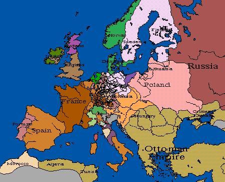 Europa 1648