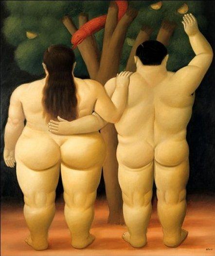 Fernando Bortero, Adamo ed Eva