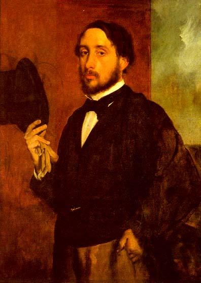 Autoritratto di Edgar Degas
