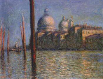 Claude Monet, Canal Grande, Venezia