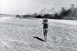 la guerra dei sei giorni nel deserto del Sinai