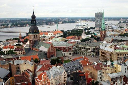 Riga veduta